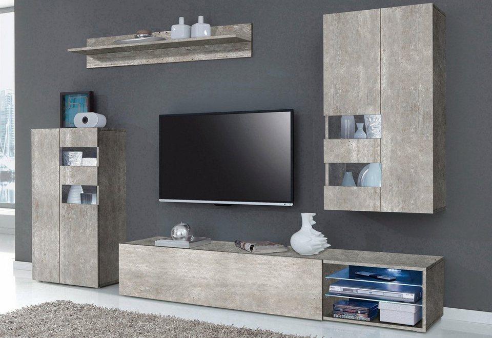 Tecnos Wohnwand (4-tlg.) online kaufen | OTTO
