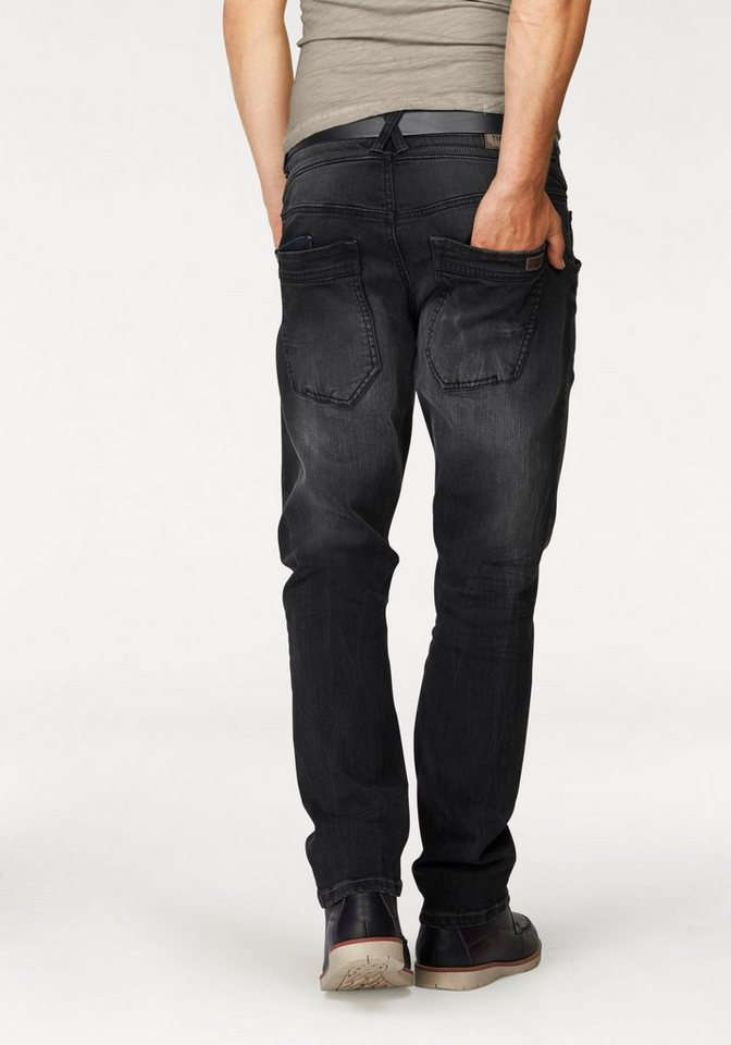 TIMEZONE Straight-Jeans »Claymore« in pirate-wash