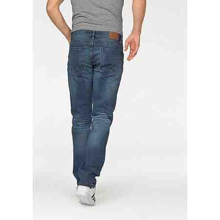 John Devin Straight-Jeans Stretch