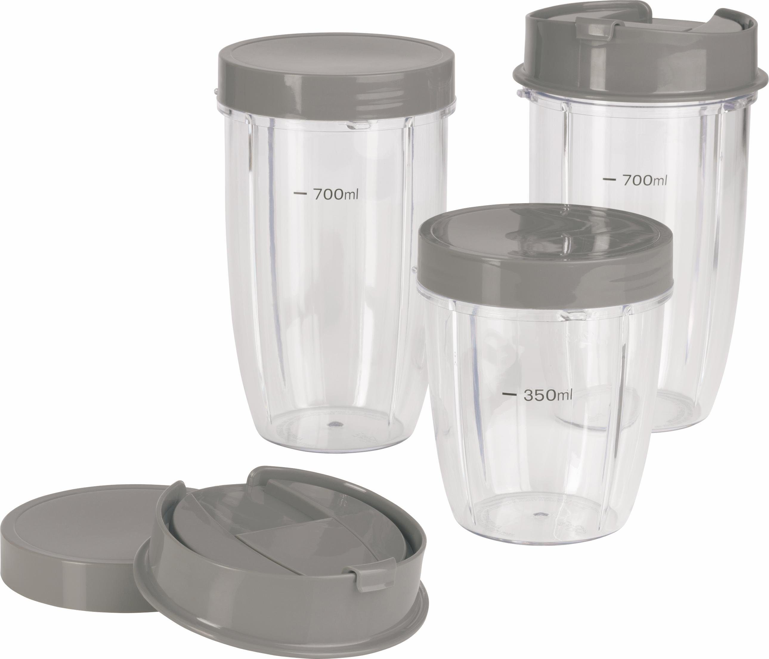 GOURMETmaxx Becher-Set 8-tlg., für Nutrition Mixer