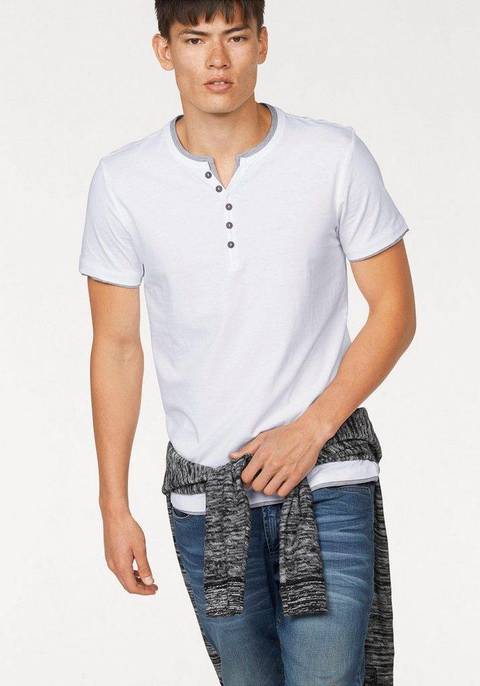 John Devin Layershirt in weiß