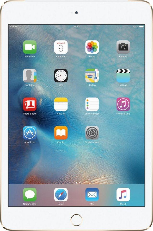 "Apple iPad mini 4 Cellular 7,9"" 16 GB Apple Sim in Gold"