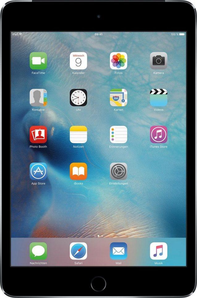 "Apple iPad mini 4 Cellular 7,9"" 64 GB Apple Sim in Space Grau"