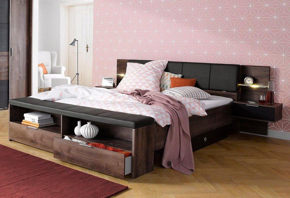 Wimex Bettschubkasten-Set (2-tlg.) in schwarzeichefarben