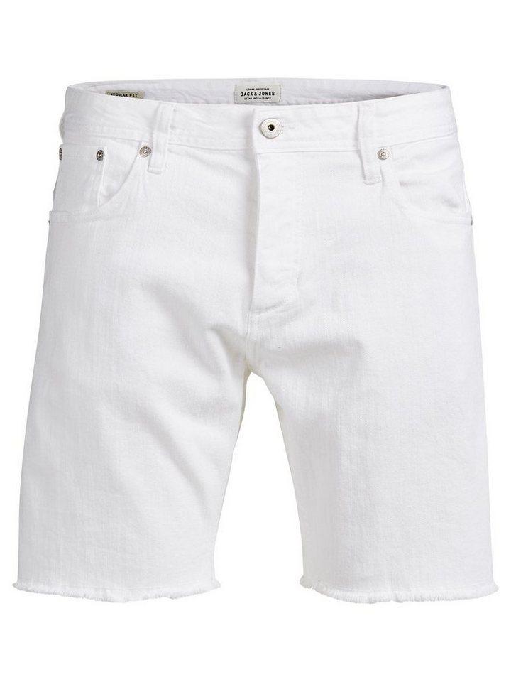 Jack & Jones Rick Original Jeansshorts in White