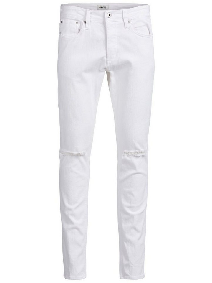 Jack & Jones Glenn Original AKM 122 Slim Fit Jeans in White