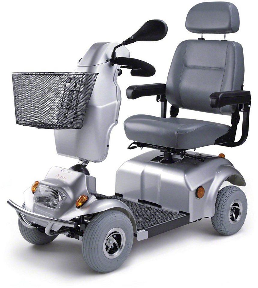 Dietz Reha Produkte Elektromobil, 10 km/h, »Agin« in silberfarben