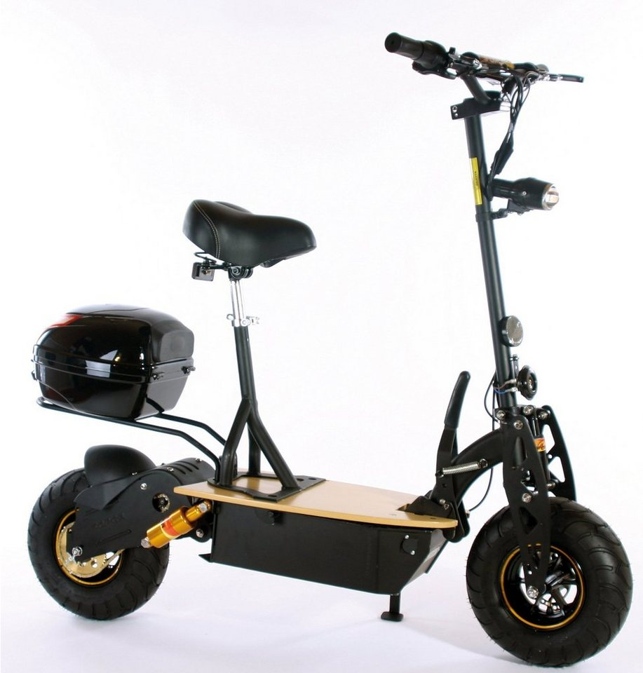 Didi Thurau Edition Elektro-Roller Eco-City-Liner, 45 km/h, »Speed Safety Plus« in schwarz