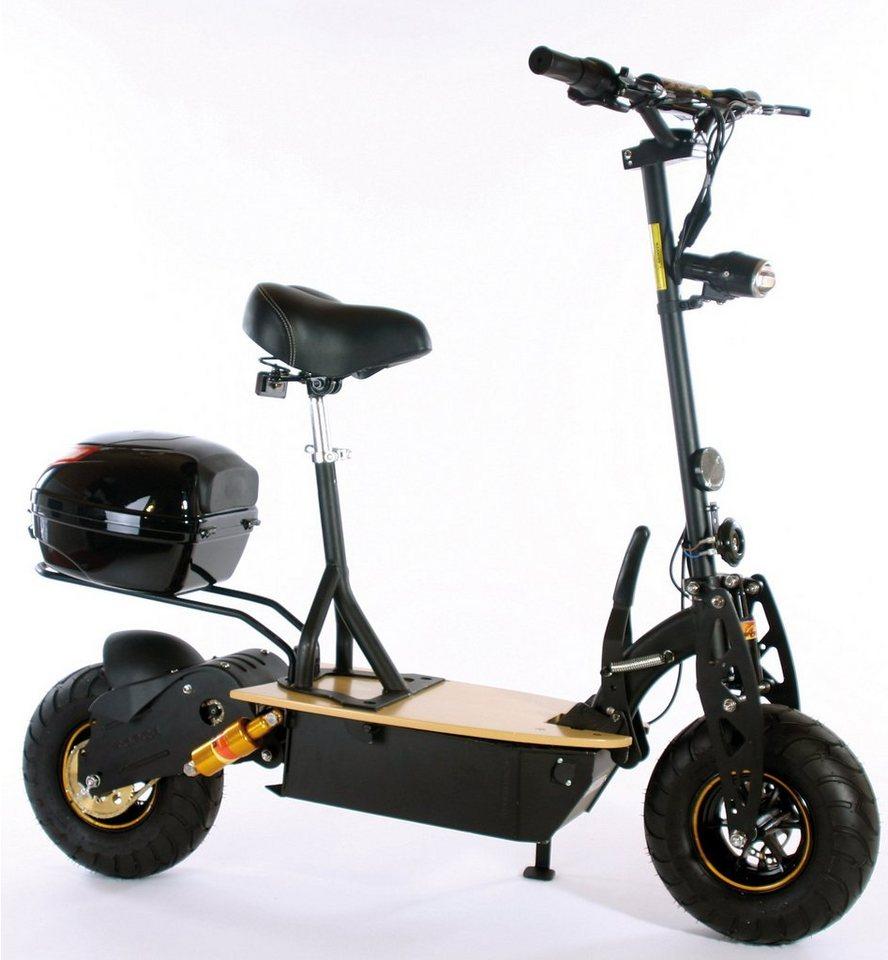 Didi Thurau Edition Elektro-Roller Eco-City-Liner, 20 km/h, »Safety« in schwarz