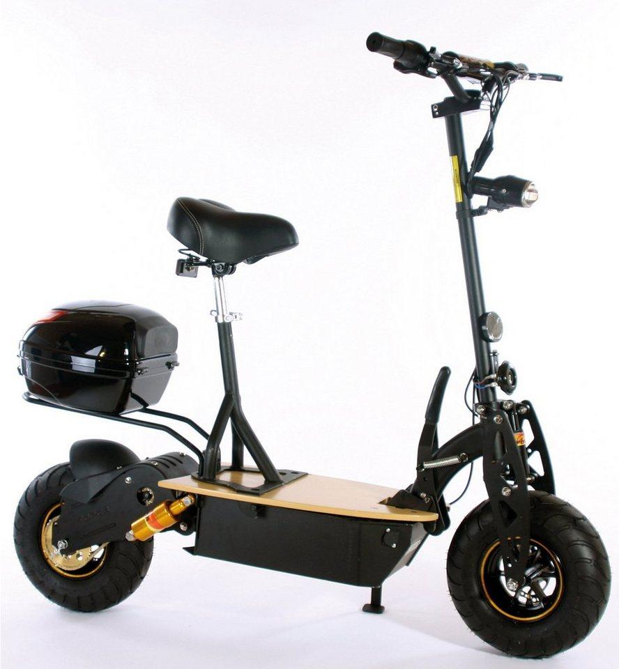 Didi Thurau Edition Elektro-Roller Eco-City-Liner, 20 km/h, »Safety Plus« in schwarz