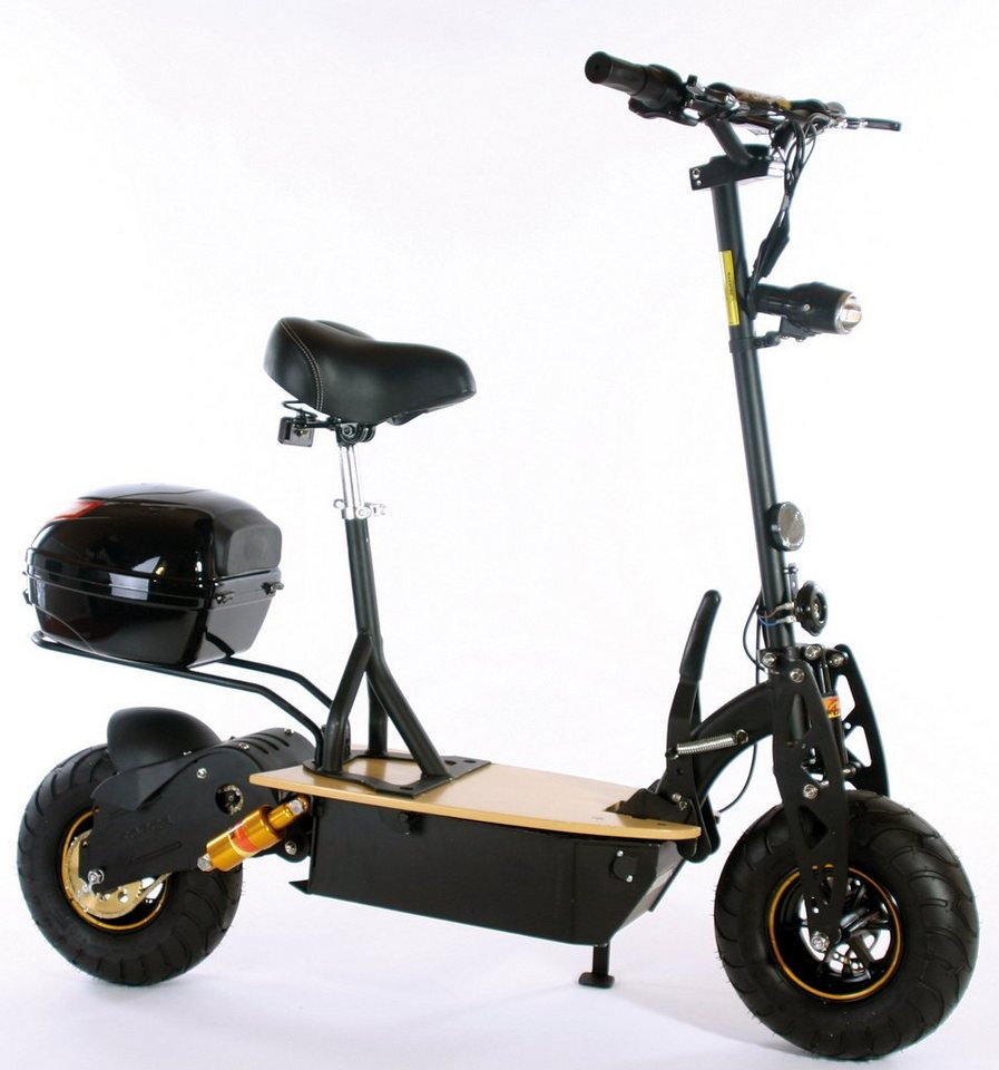 Didi Thurau Edition Elektro-Roller Eco-City-Liner, 45 km/h, »Speed Safety«