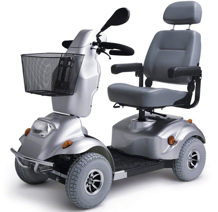 Dietz Reha Produkte Elektromobil, 15 km/h, »Alvaro« in silberfarben