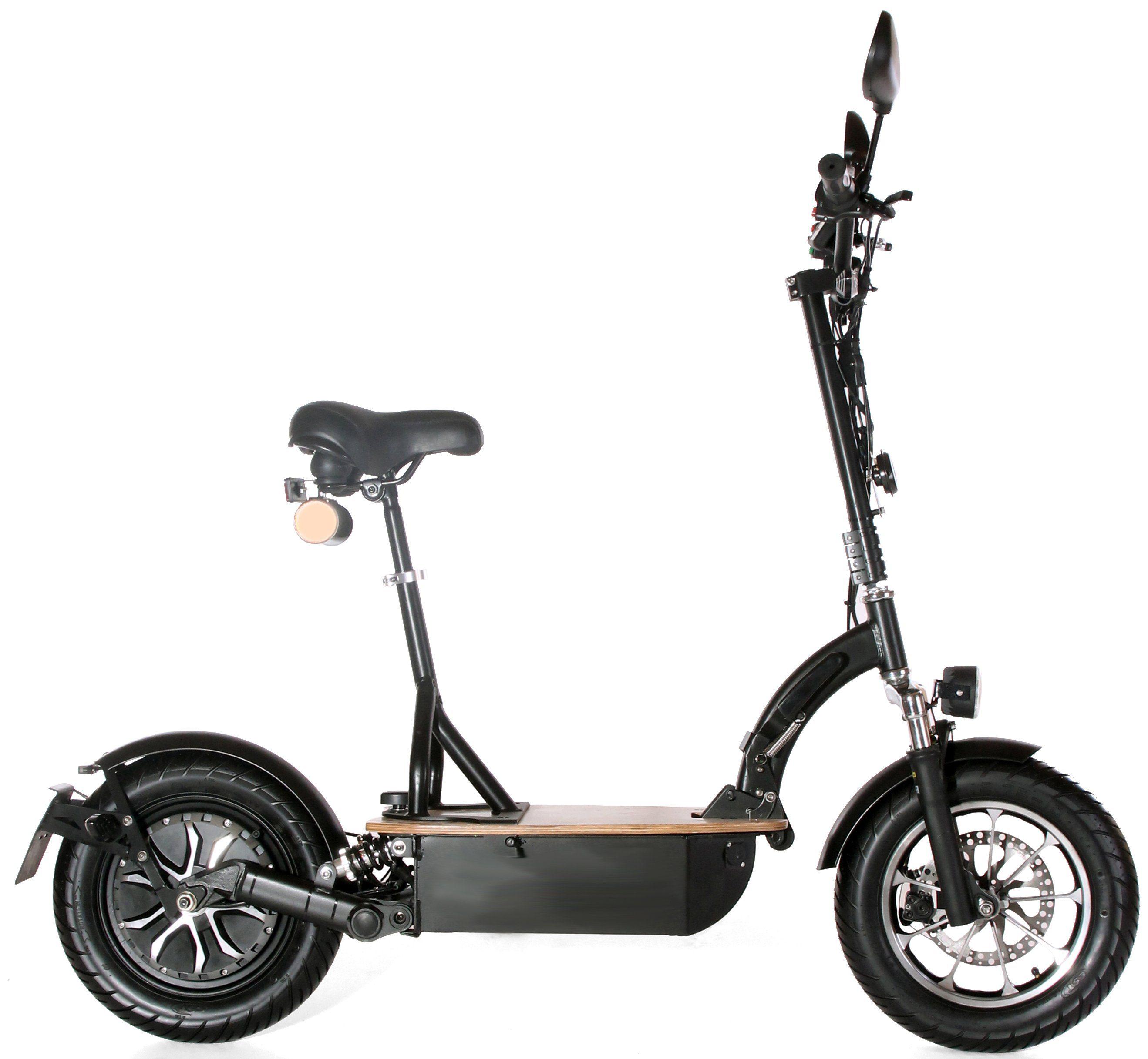 Didi Thurau Edition Elektro-Roller Eco-Tourer, 20 km/h, »Safety Plus«