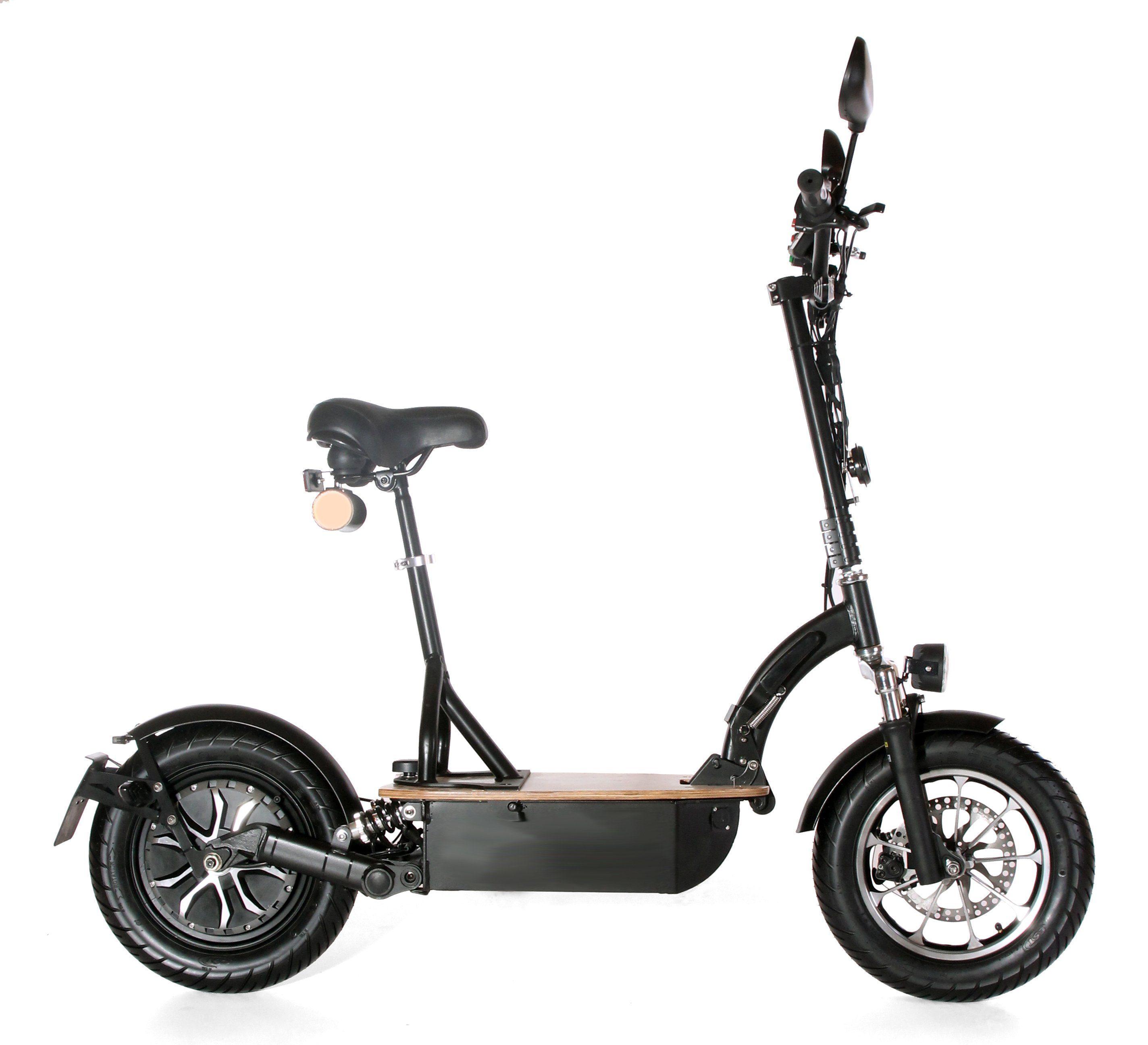 Didi Thurau Edition Elektro-Roller Eco-Tourer Speed, 45 km/h, »Safety Plus«