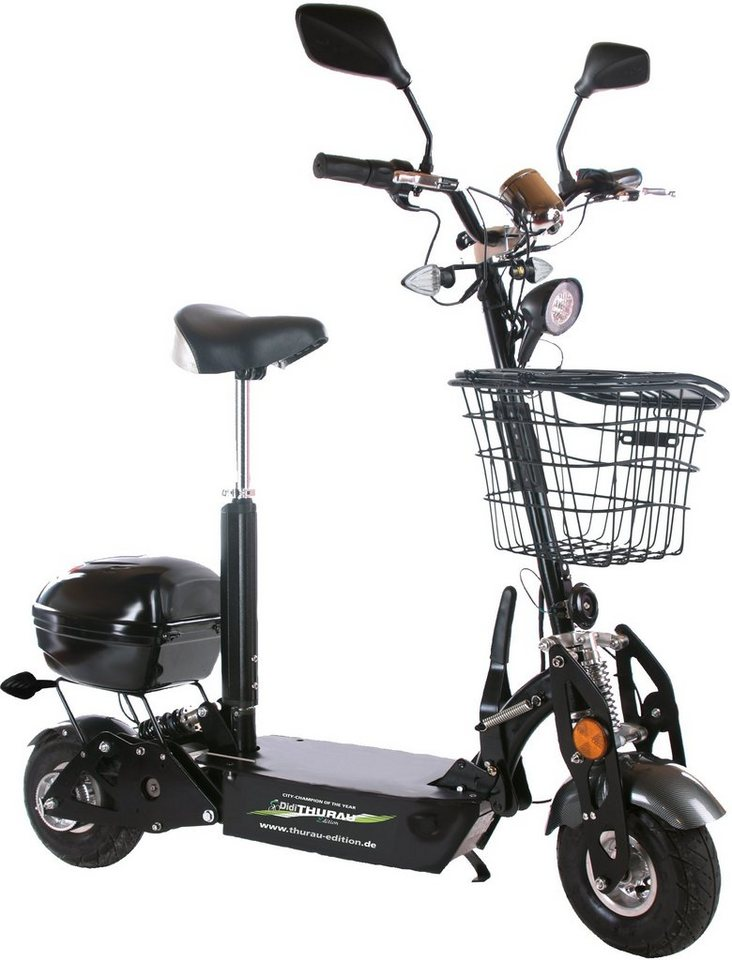 didi thurau edition e scooter safety 500 w 20 km h. Black Bedroom Furniture Sets. Home Design Ideas