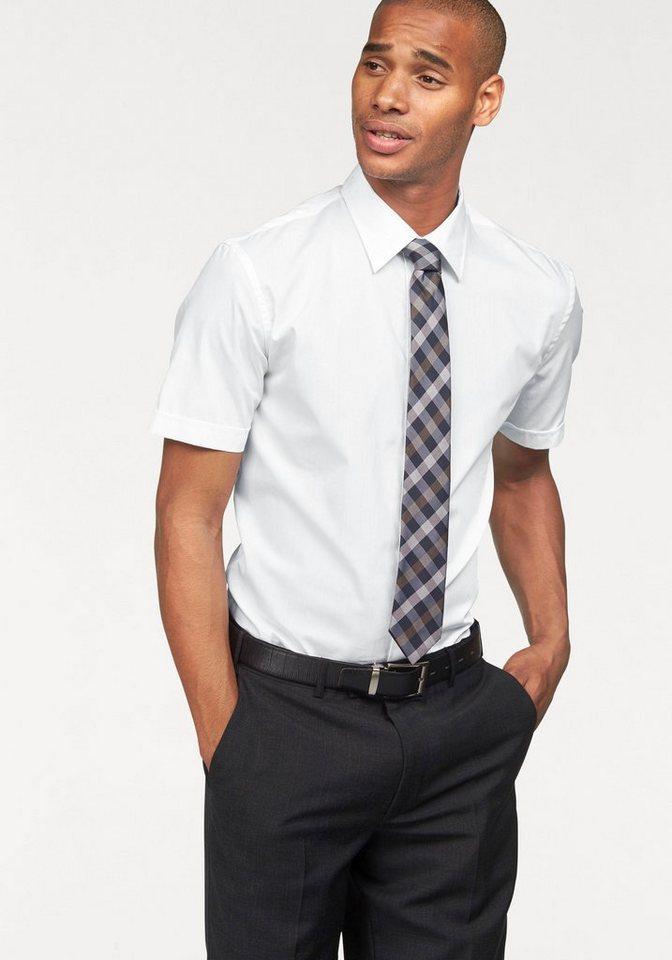 Class International Businesshemd in weiß