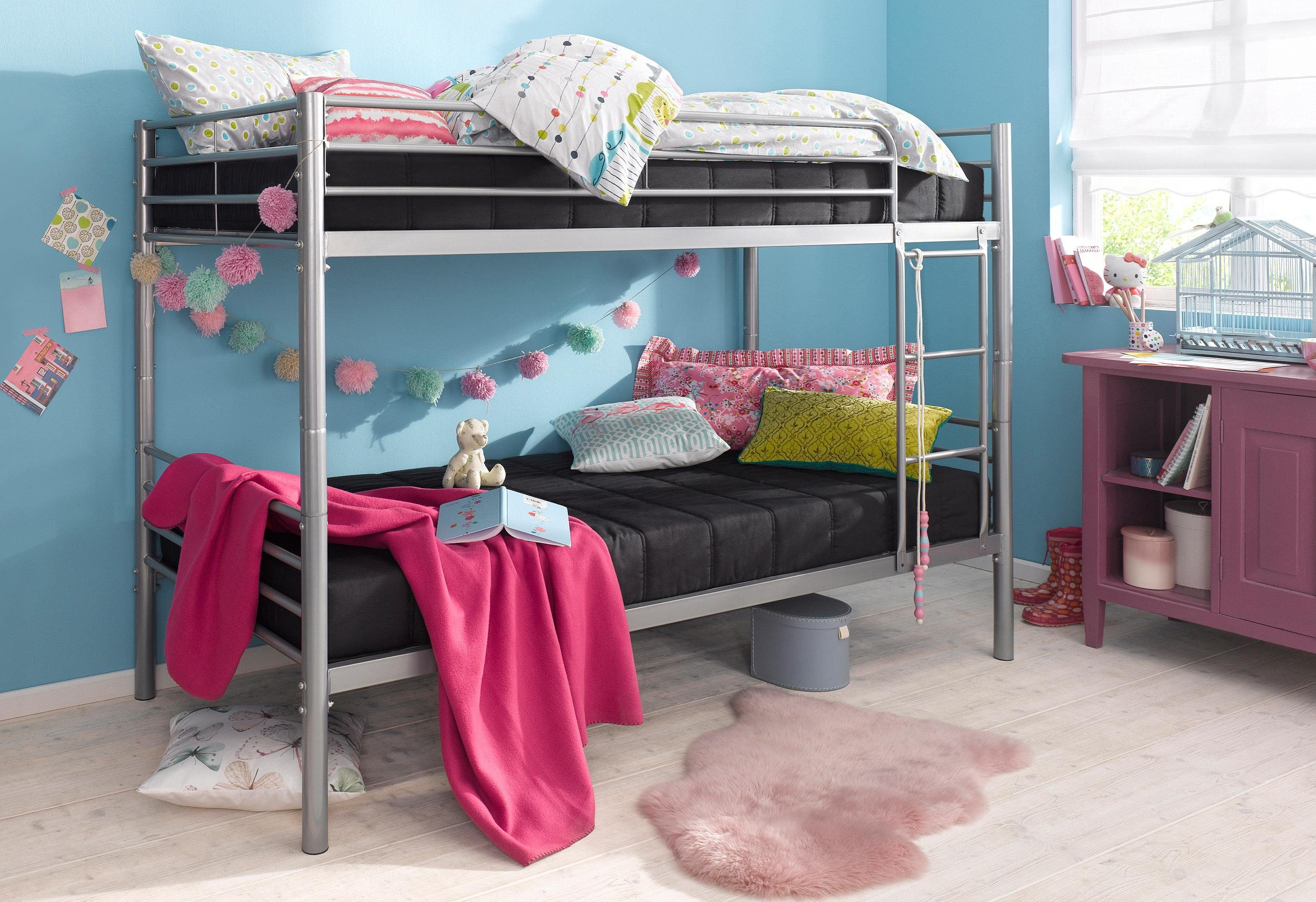 Etagenbett Ottos : Atlantic home collection metall einzel etagenbett otto