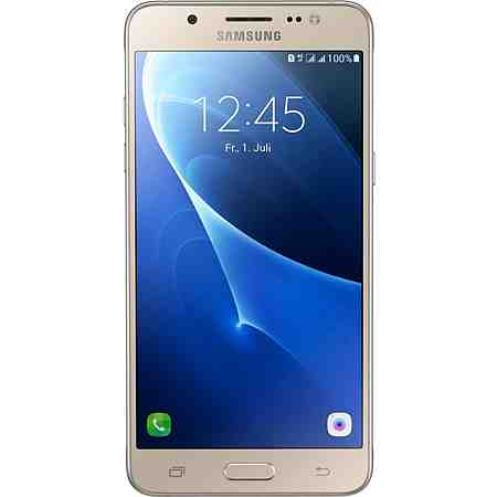 Samsung Galaxy J5 (2016) Duos Smartphone, 13,18 cm (5,2 Zoll) Display, LTE (4G), Android Beam