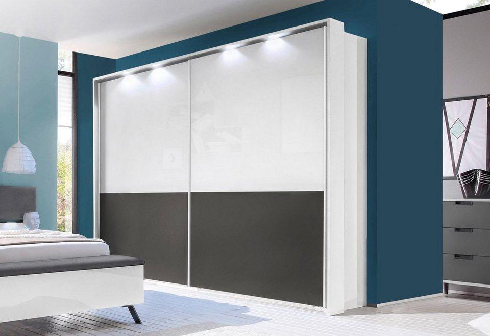 LC Passepartout-Rahmen mit LED-Beleuchtung in weiß Hochglanz
