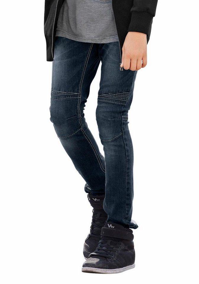 Bench Stretch-Jeans SLIM in dark-denim