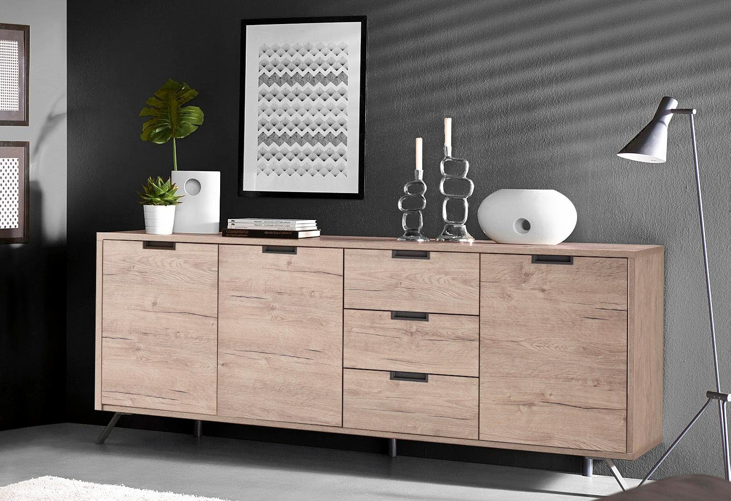 LC Sideboard, Breite 206 cm