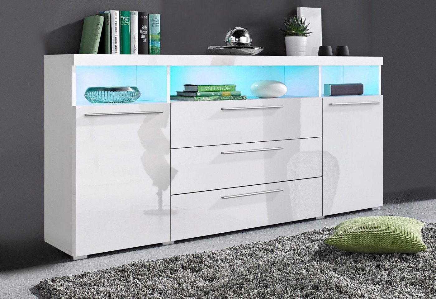 sideboard 2 m breit preisvergleiche erfahrungsberichte und kauf bei nextag. Black Bedroom Furniture Sets. Home Design Ideas