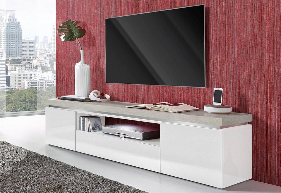 tecnos lowboard breite 180 cm online kaufen otto. Black Bedroom Furniture Sets. Home Design Ideas