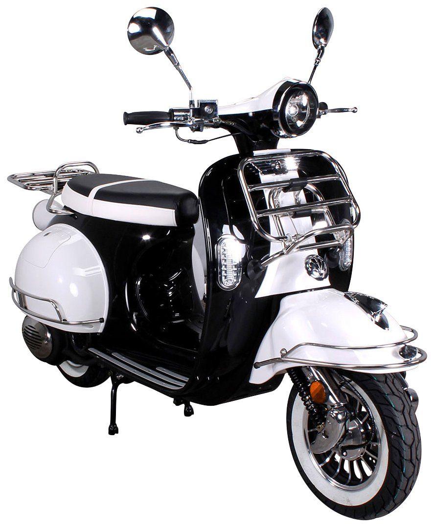Actionbikes Motors Motorroller »Retro Star«, 50 ccm, 45 km/h