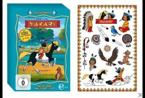 DVD+CD »Yakari - Geschenkbox«