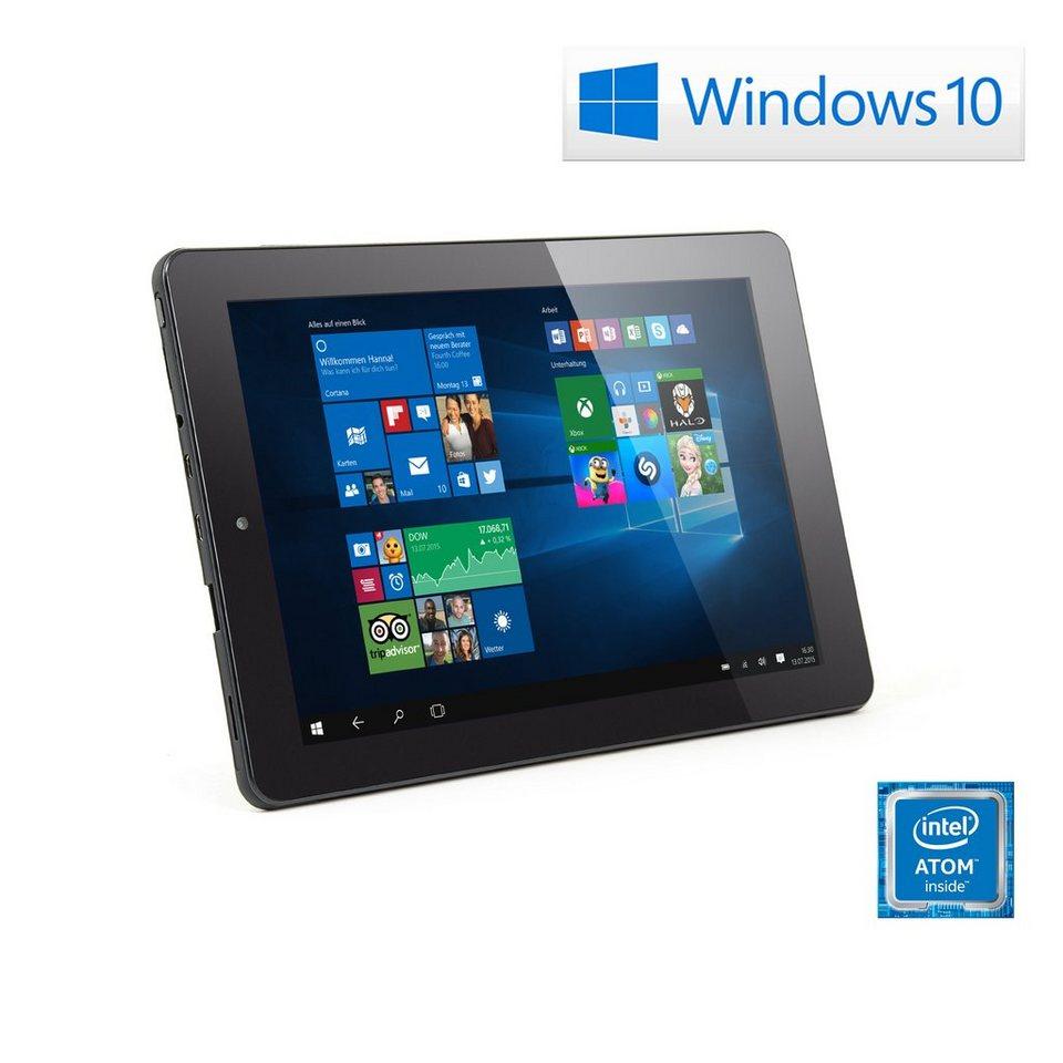 "CSL 9"" Tablet | Intel Z3735F | 32 GB | WLAN | IPS »Panther Tab 9 | Windows 10 Home« in schwarz"