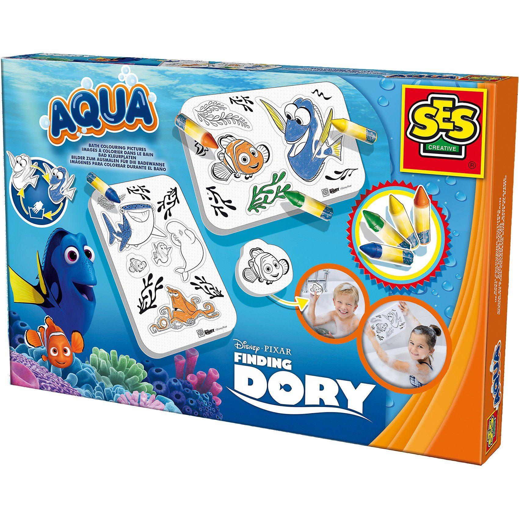 SES Creative Malen in der Badewanne - Findet Dorie