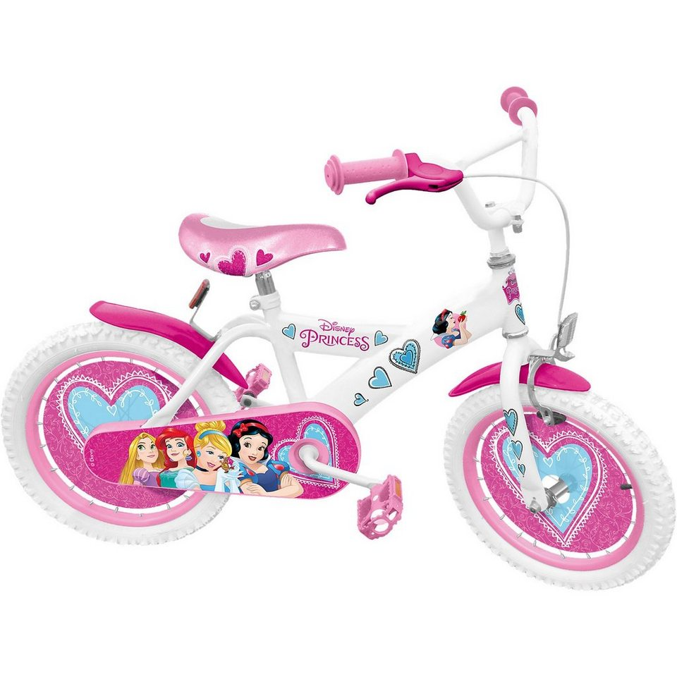 Stamp Disney Princess Kinderfahrrad, 16 Zoll in pink