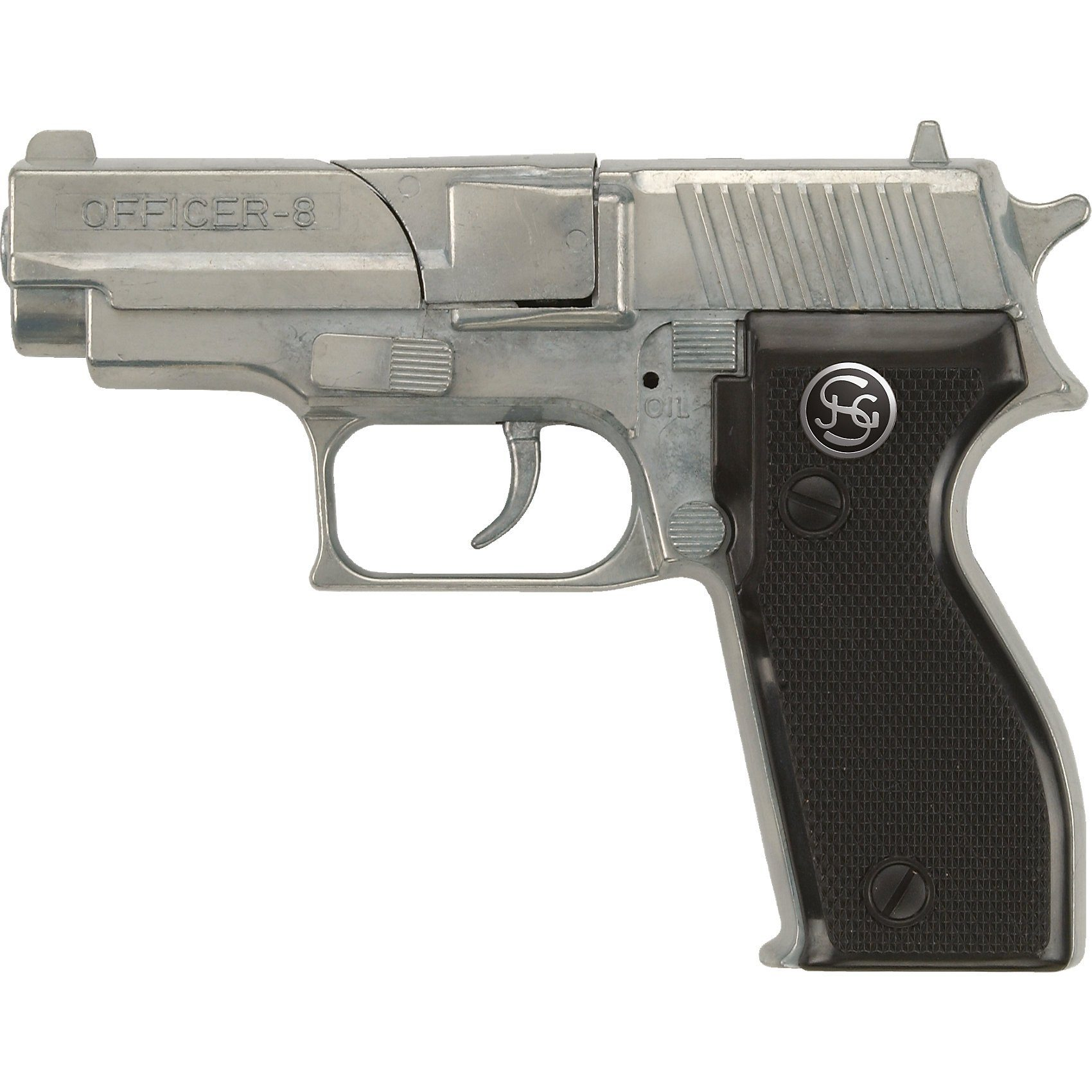 Schrödel Pistole Officer, 8 Schuss