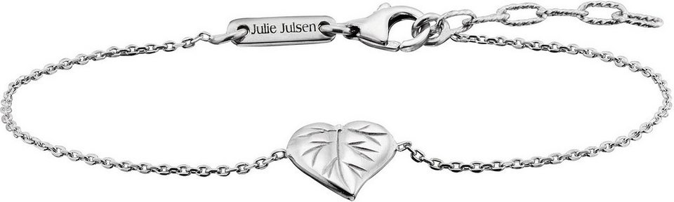 Julie Julsen Armkette, »Petite COLLECTION, Blatt, JJBR9824.1« in Silber 925