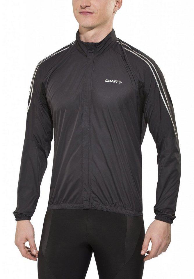 Craft Radjacke »Velo Wind Jacket Men« in schwarz