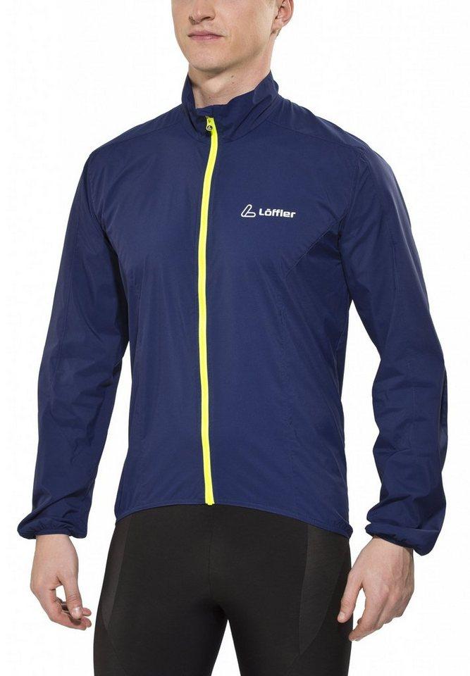 Löffler Radjacke »WS Active Bike Jacke Herren« in blau