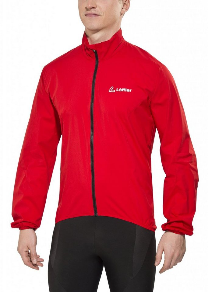 Löffler Radjacke »WS Active Bike Jacke Herren« in rot