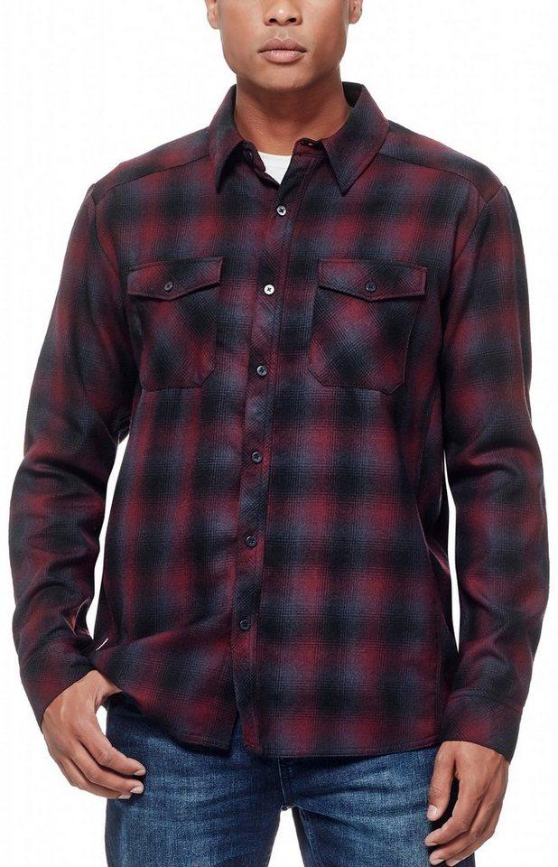 Icebreaker Hemd »Lodge LS Shirt Men Flannel« in rot