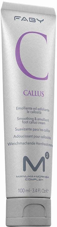 FABY Fußcreme »M2 Callus«, Pflegende und exfolierende Feuchtigkeitsemulsion