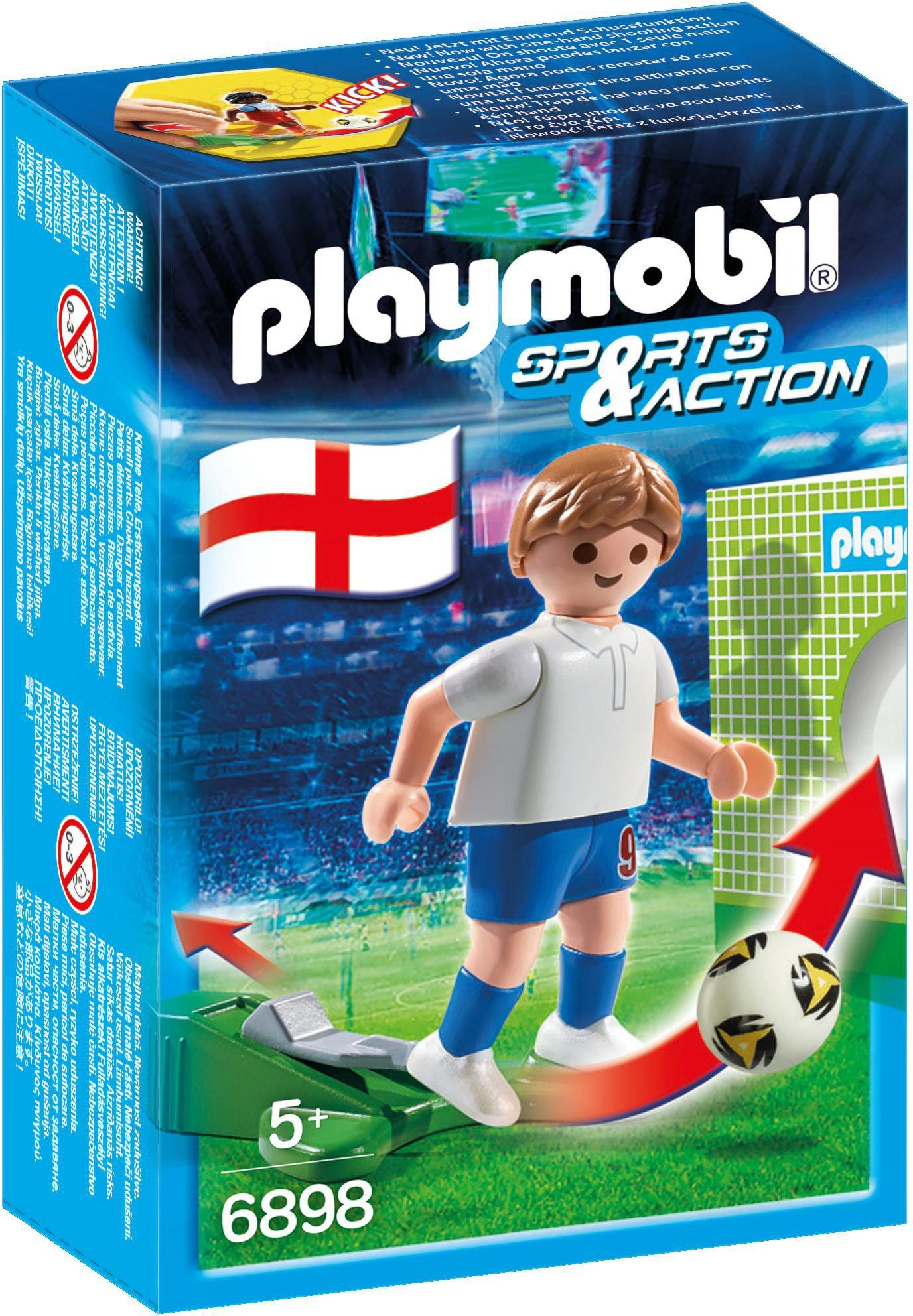 Playmobil® Fußballspieler England (6898), »Sports & Action«