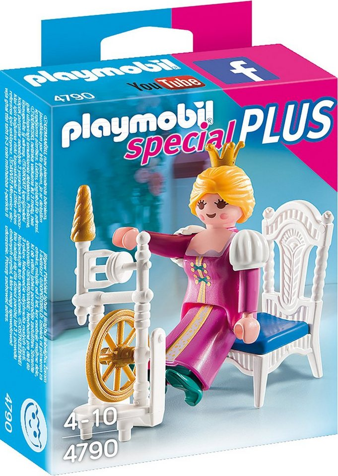Playmobil® Prinzessin m. Spinnrad (4790), »Special Plus«