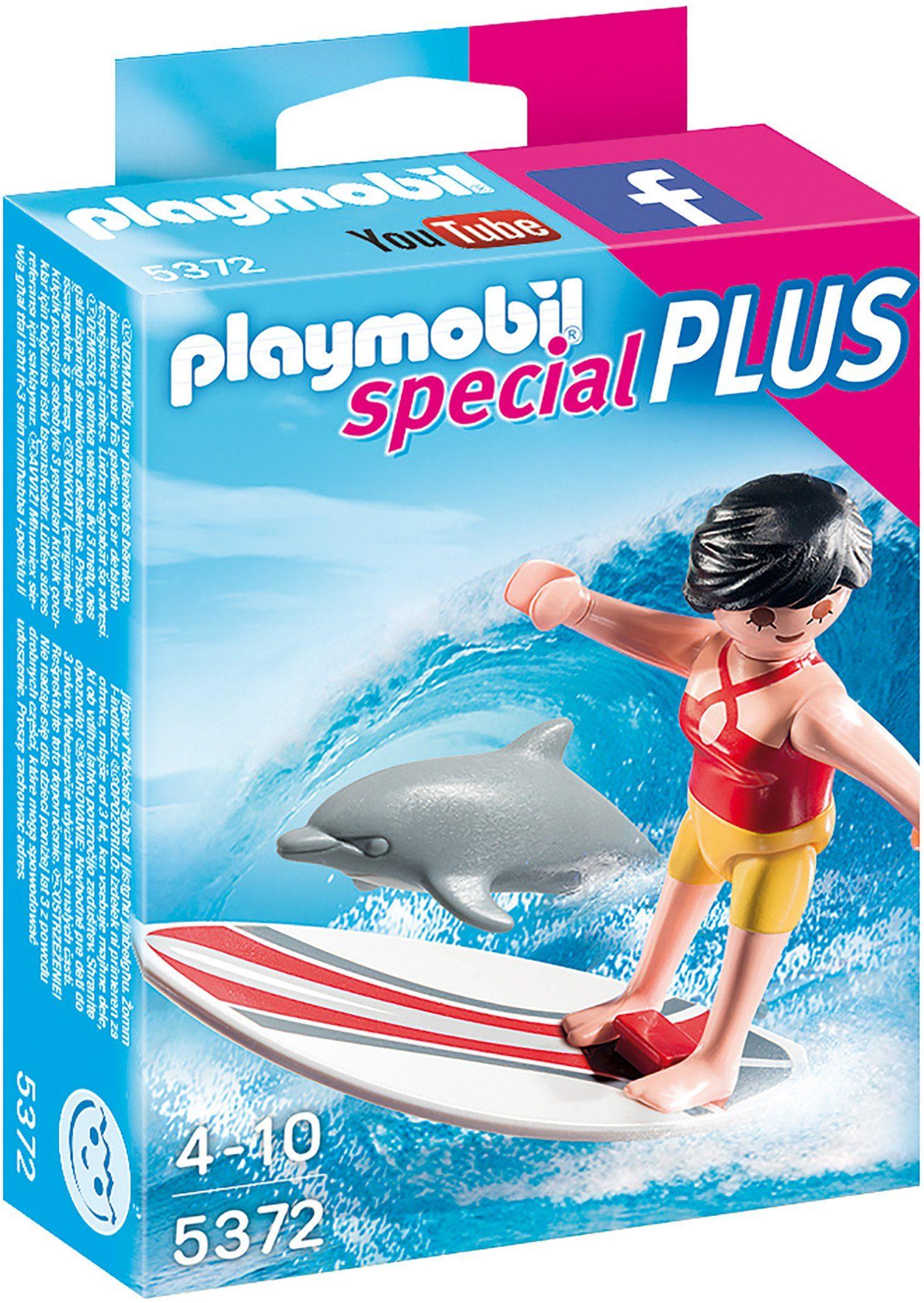 Playmobil® Surferin mit Delfin (5372), »Special Plus«
