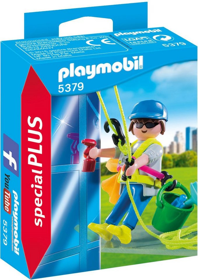 Playmobil® Gebäudereiniger (5379), »Special Plus«