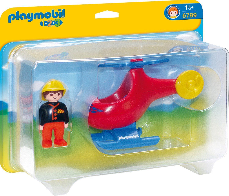 Playmobil® Feuerwehrheli (6789), »Playmobil 1-2-3«