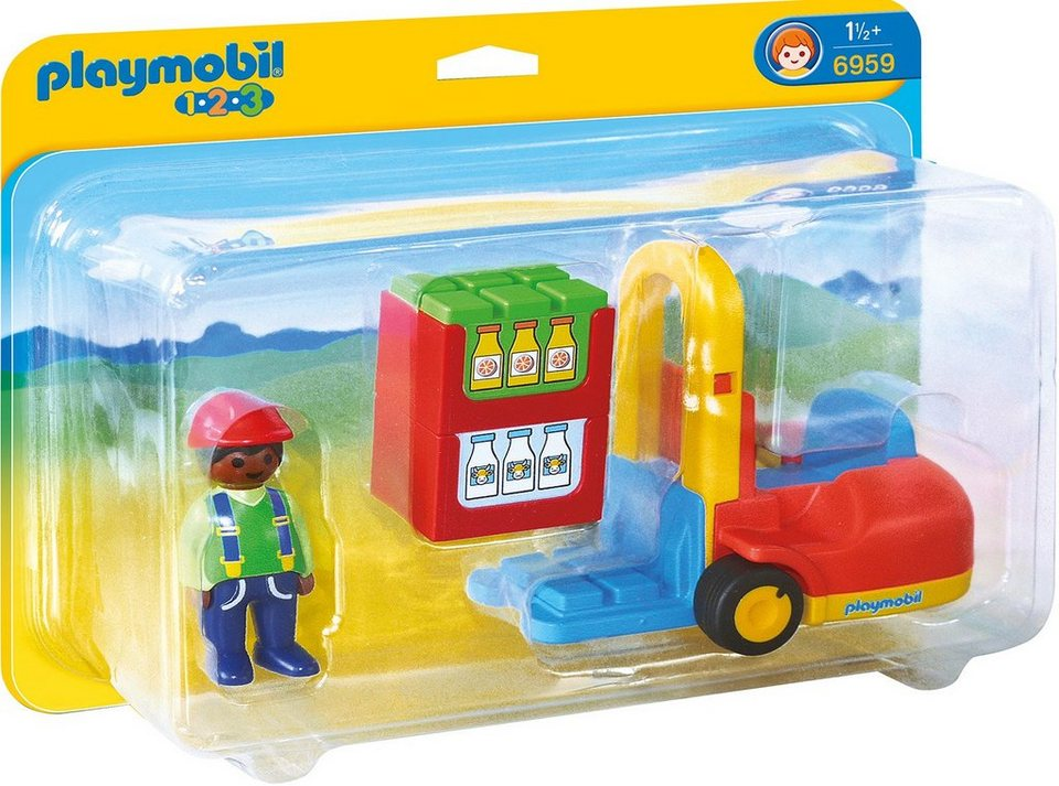 Playmobil® Gabelstapler (6959), »Playmobil 1-2-3«