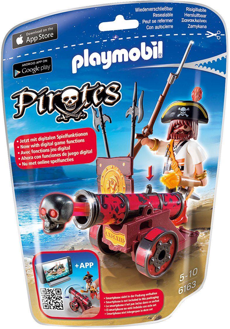 Playmobil® Rote App-Kanone mit Freibeuter (6163), »Pirates«
