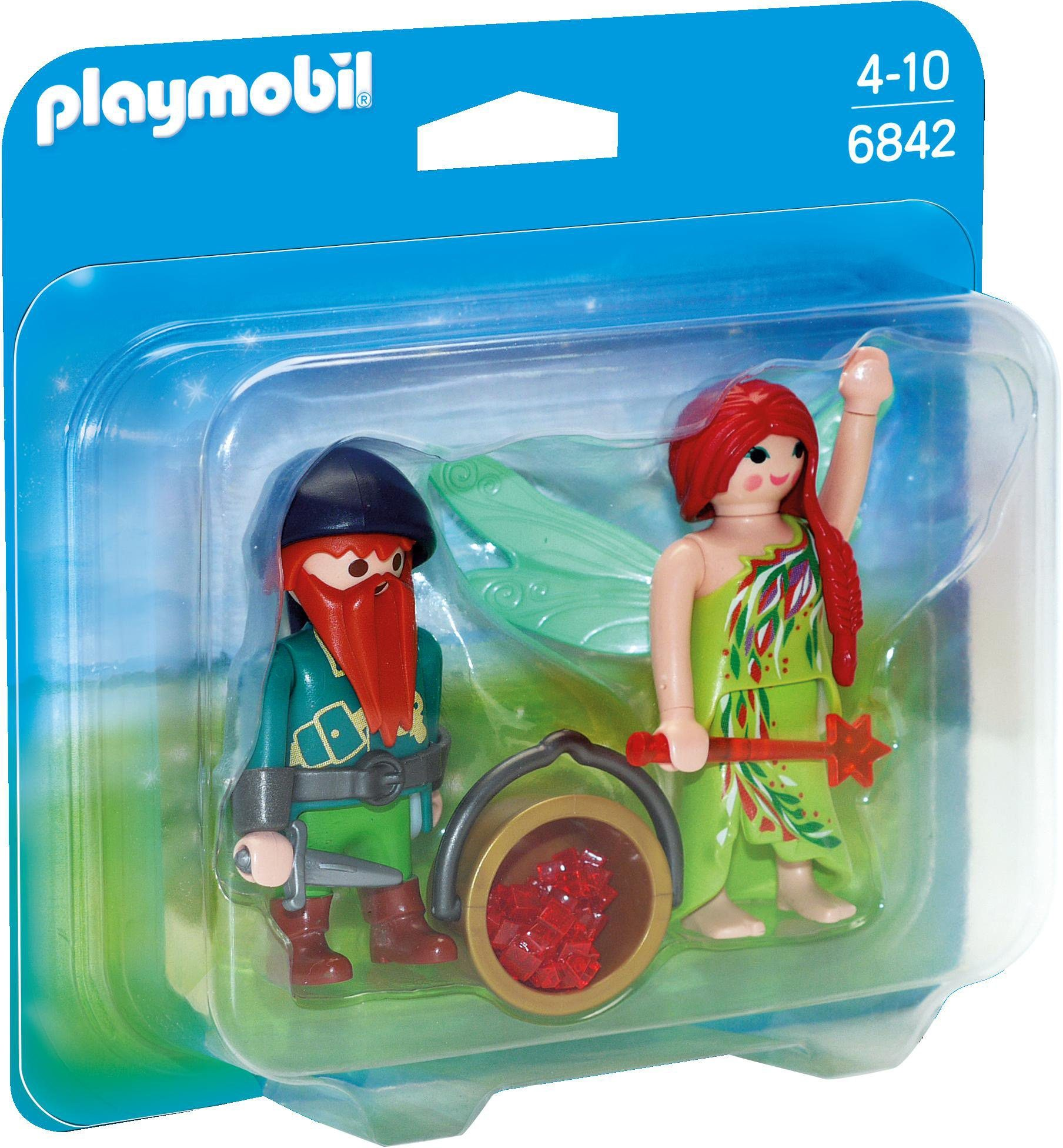 Playmobil® Duo Pack Elfe und Zwerg (6842), »Princess«
