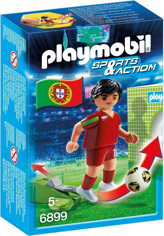 Playmobil® Fußballspieler Portugal (6899), »Sports & Action«