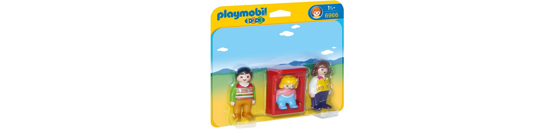 Playmobil® Eltern mit Babywiege (6966), »Playmobil 1-2-3«