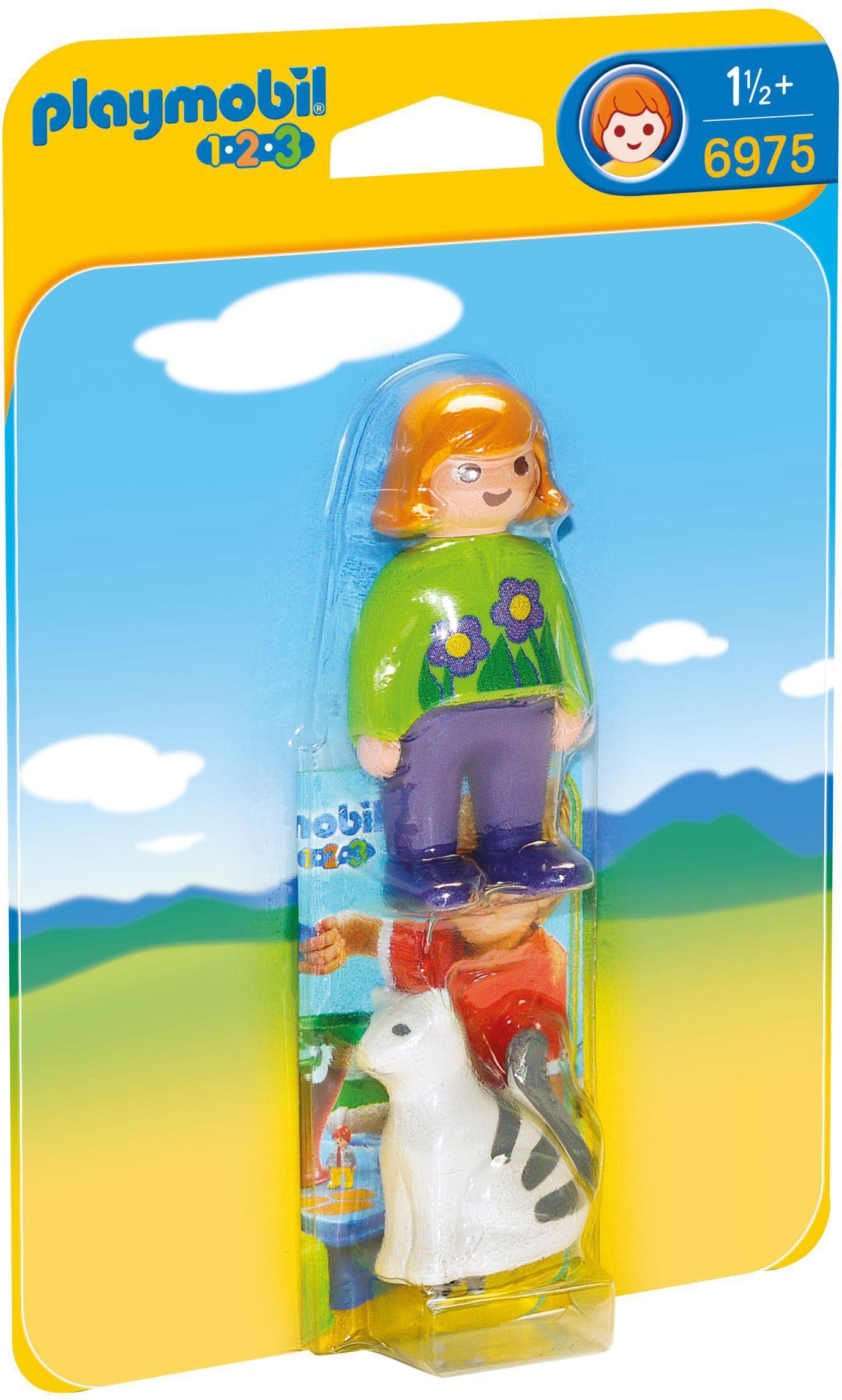 Playmobil® Frau mit Katze (6975), »Playmobil 1-2-3«